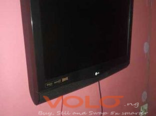 A clean as new 22 inches of LG flat screen TV
