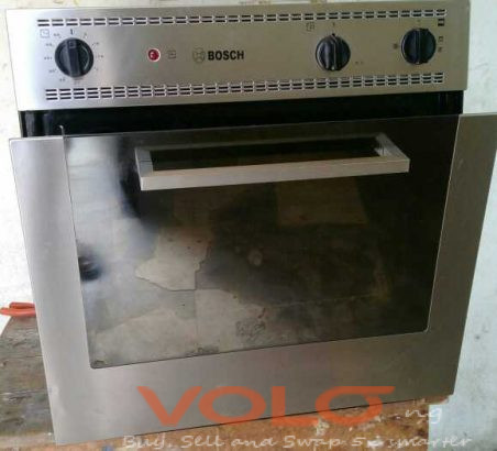 Bosch gas/electric oven unit