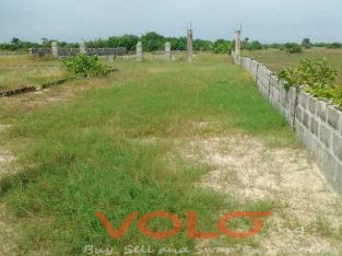 A dry land that is located in Ajah axis, in eleku town close to dangote refinery.